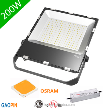 ul 100w led floodlight hlg meanwell led driverled outdoor flood light osram smd led flood