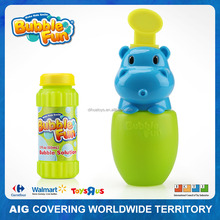 Animal Bubble Water Bottle Toy with Bubble Water