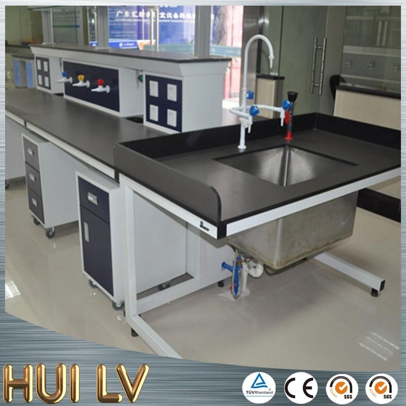Used Hexagonal School Science Furniture Physics Laboratory