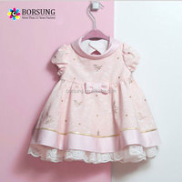 New conception children Princess Dress Design kids Wedding Dress pink tutu One Piece skirt for Baby Girl Party Dresses