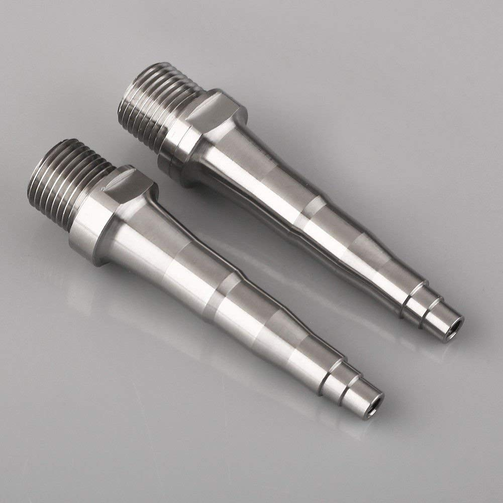 5f55bdcf521 Get Quotations · FidgetFidget Pedal Spindle Axle for SpeedPlay Zero X1 X2    Light Action 73.5mm Titanium Ti