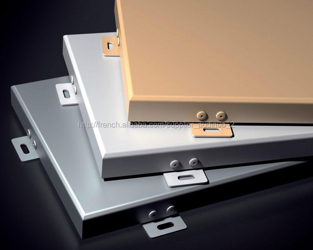 panneau composite aluminium a revetement pvdf mur rideaux id du produit 500004294994 french. Black Bedroom Furniture Sets. Home Design Ideas