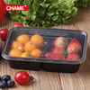 plastic Fast Food box PP Disposable Food Container