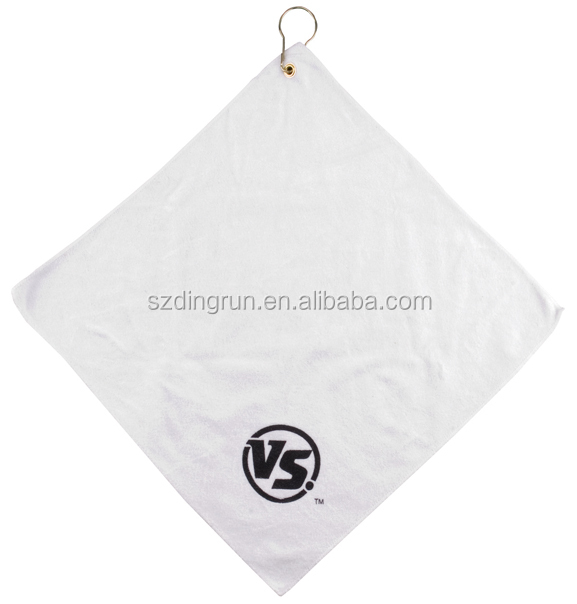 Wholesale Custom Embroidery Logo Golf Towel For Sports Club