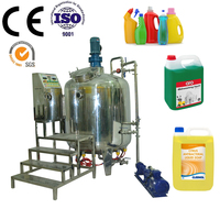 factory price hand wash liquid soap making machine