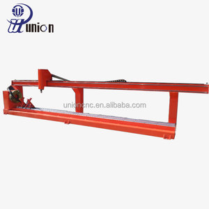good performance cheap cnc plasma cutting machine square/round steel pipe/tube cutting machine