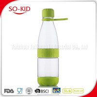 Gift Clear Private Label Detachable Body With Filter Clear Sports Water Bottle