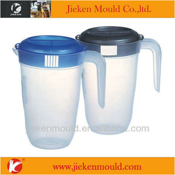 Daily Used Plastic Water Jug With Handle Mould Product On