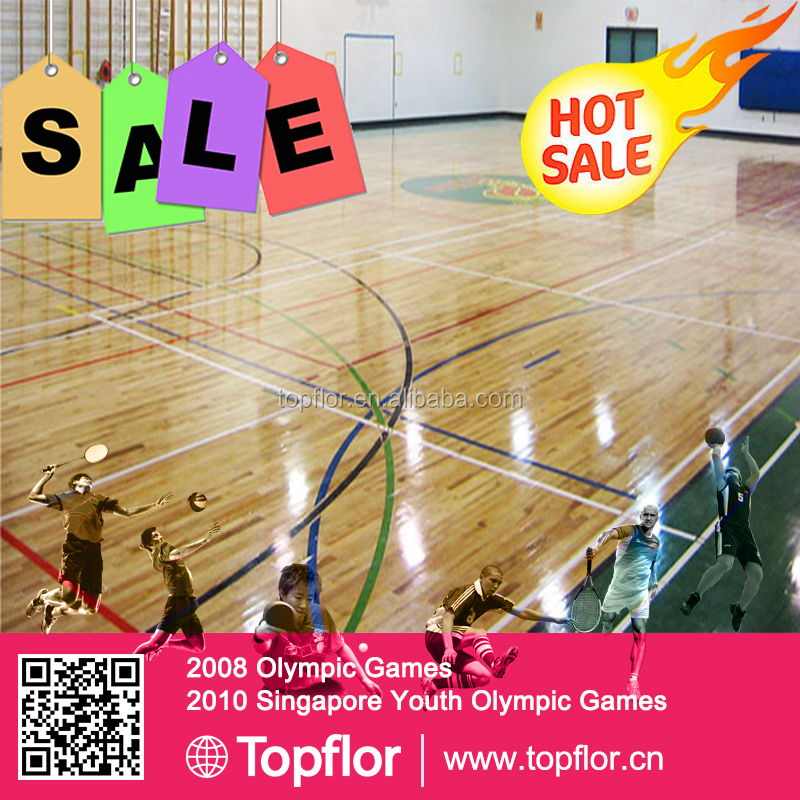 High Quality Portable Athletic Sports Mats Indoor PVC Sports Flooring Used For Multi-Court