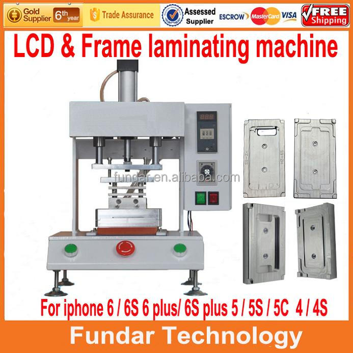 New Triple function machine lcd separator +glue remover+ frame laminator for iphone 5 5C 5S 6 6 Plus 6S 6S bezel frame laminator