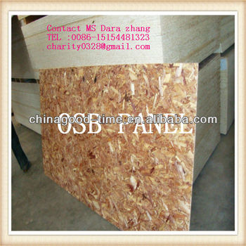 waterproof osb3 for construction 9.11.12.15mm