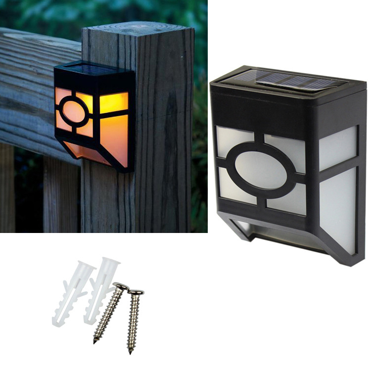 Solar wall lamp human body sensor LED pane lights outdoor courtyard solar lamp manufacturers wholesale direct sales