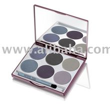 6 pan eyeshadow compact custom colors