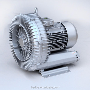 side channel blower for central feeding system