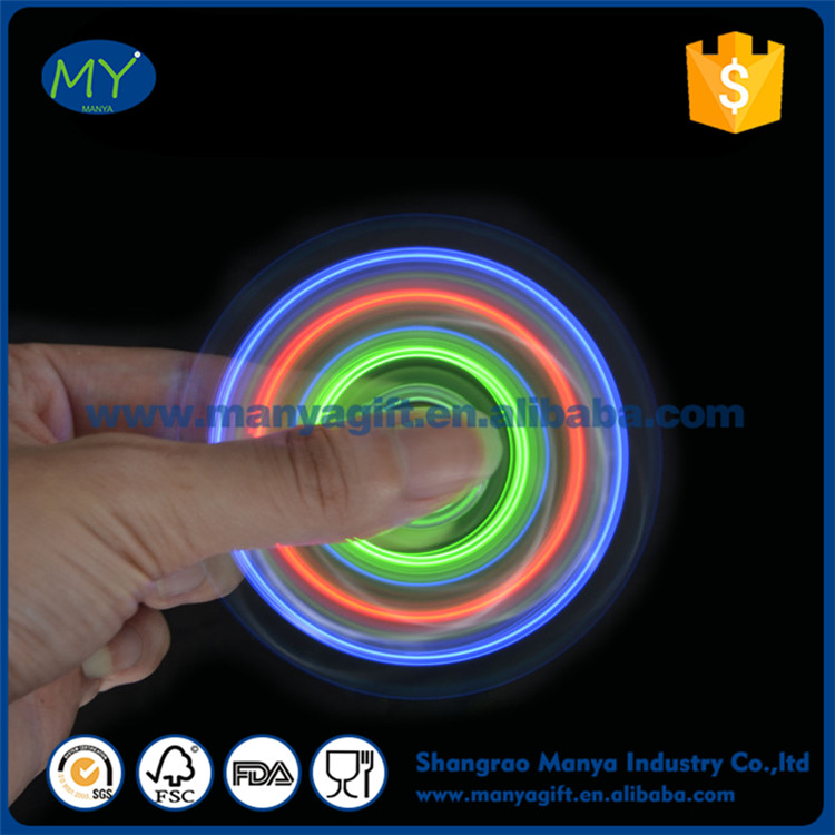 2017 hot sale fidget spinner fluorescent Chinese factory