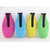 3mm 4mm Zipper Insulated Neoprene Beer Sleeve Bottle Cooler Holder