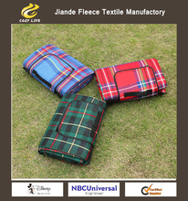 5 Size Outdoor Beach Picnic Camping Mat Multiplayer Fold Waterproof Moistureproof Baby Climb Plaid Blanket