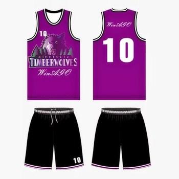 Latest Basketball Blank Jersey Uniform Design Custom Sublimation