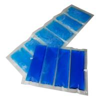 Reusable ice pack sheet coolers and shipping stays cold ice packs for food delivery