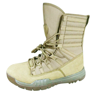 British blank sand leather army rubber sole army military boots