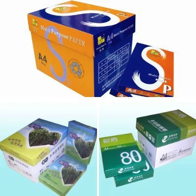 Copy Paper High quality 80gsm A4 210x297mm