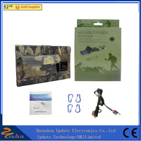 CE Approved Foldable Solar Panel Charger Bag Backpack for Travelling and Camping