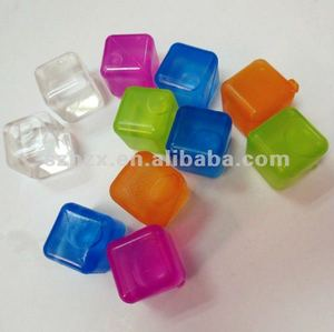 bar plastic ice cube with water,FDA,SGS certification