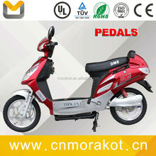 CHEAP CE 500W Road Legal 2 Wheel Adult Electric scooter/Cheap Mopeds/Electric Bike with Pedals-- LS1