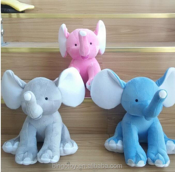 2017 wholesale cute stuffed animal elephant, <strong>plush</strong> soft elephant toy for kids, elephant custom <strong>plush</strong> toy