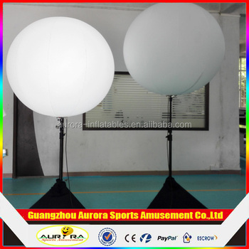 Backpack ball Diameter 1.5m air fulled balloon lighting tower/inflatable stand balloon & Backpack Ball Diameter 1.5m Air Fulled Balloon Lighting Tower ...