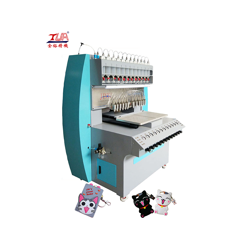 automatic dripping machine for making silicone logo