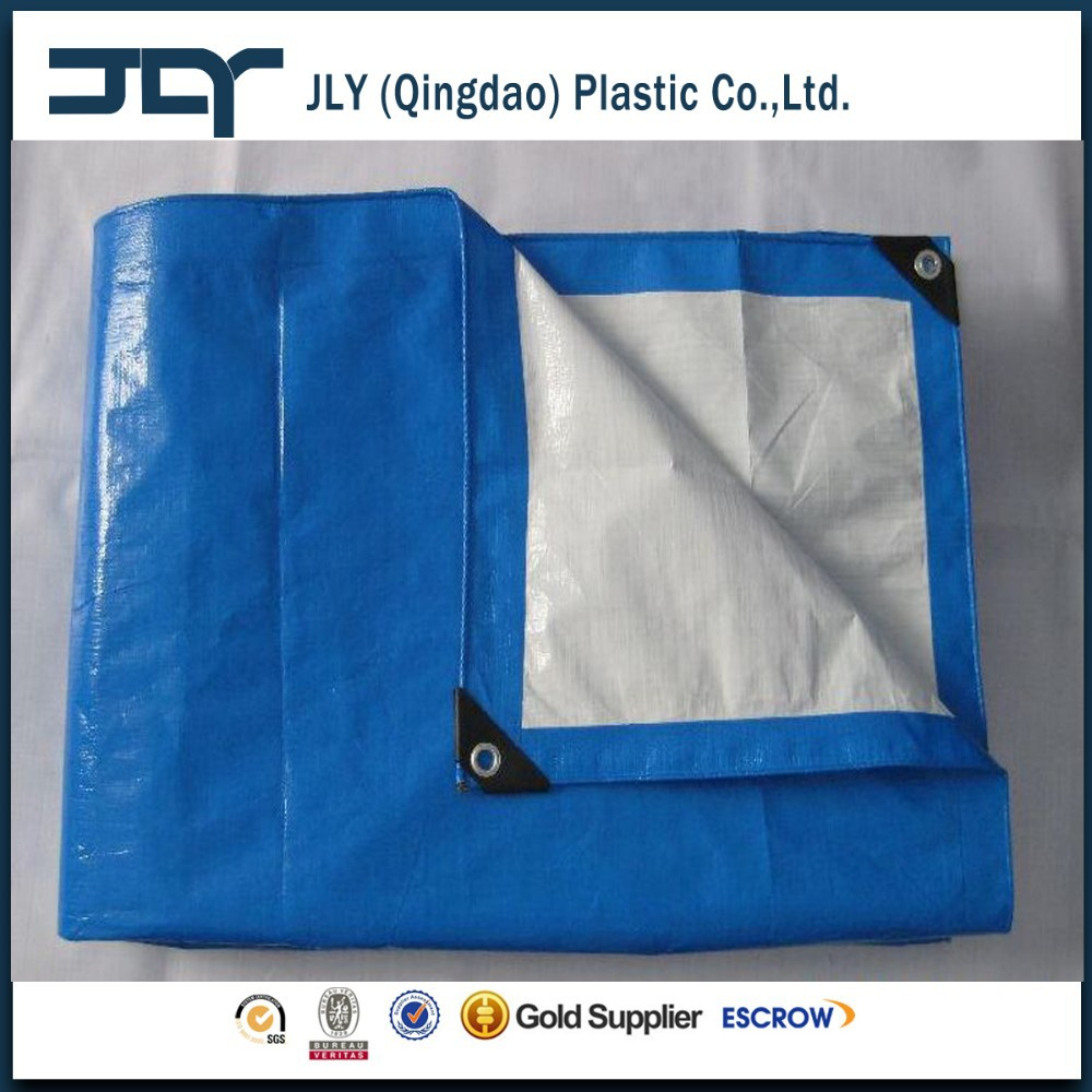 pe material canvas tarpaulin in roll qingdao factory supply