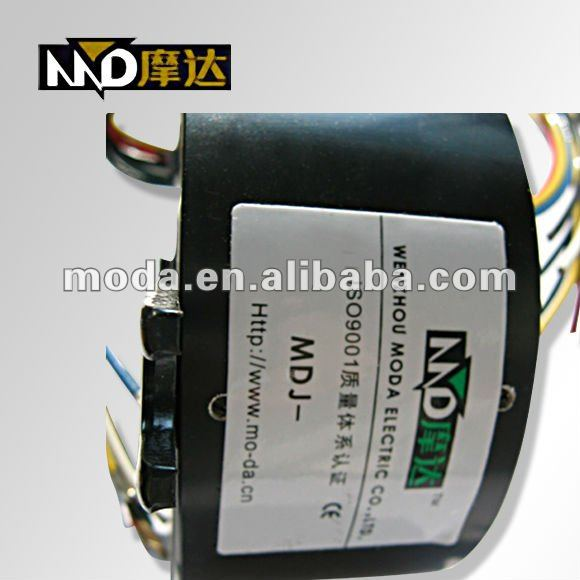 MDH3899 through bore slip ring industrial through hole electrical slip ring