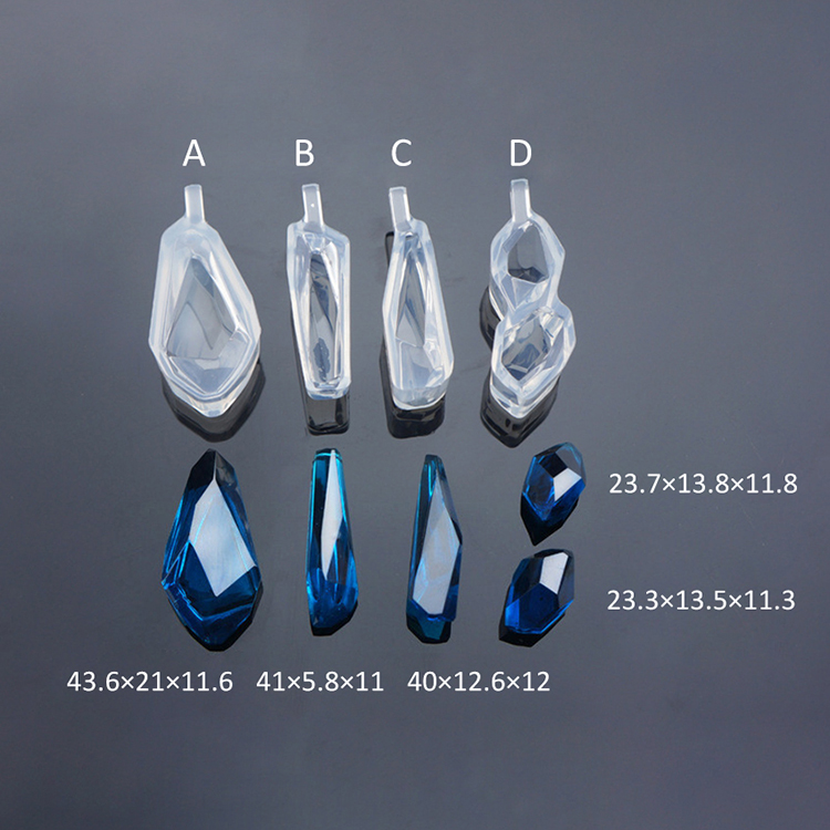 d8aa84441c66 Molde de silicona para Epoxy resina joyas haciendo