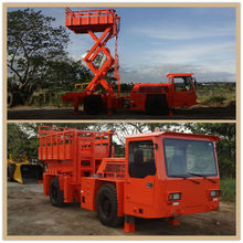 RS-3CT Underground Mining Scissors Lift Truck