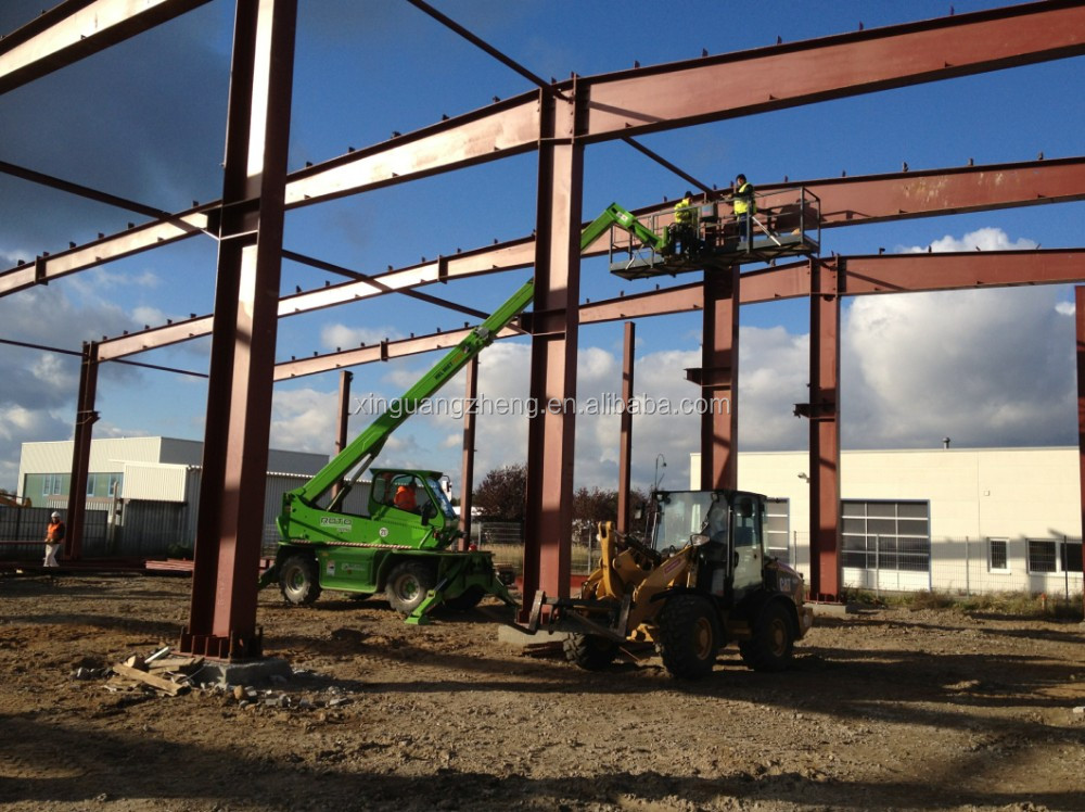 steel structure warehouse export Germany with CE Certification
