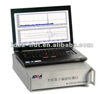 Intelligent magnetic flux leakage testing machine/ MFL