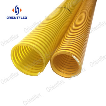 Heavy duty pvc helix 2.5 3 6 inch flexible suction hose kit