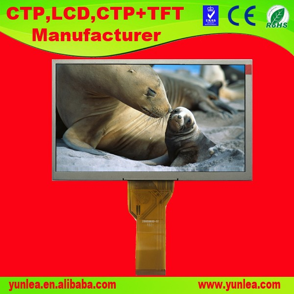 advanced type TFT 800*480 7 inch display LCD module
