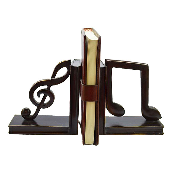 Accessories 1 Pair Bookend Frame Creative Bookends Frame Creative Organized For Library Home Quality And Quantity Assured Book Ends