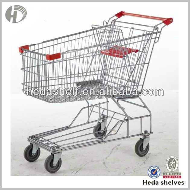kids chromed hand trolley cart