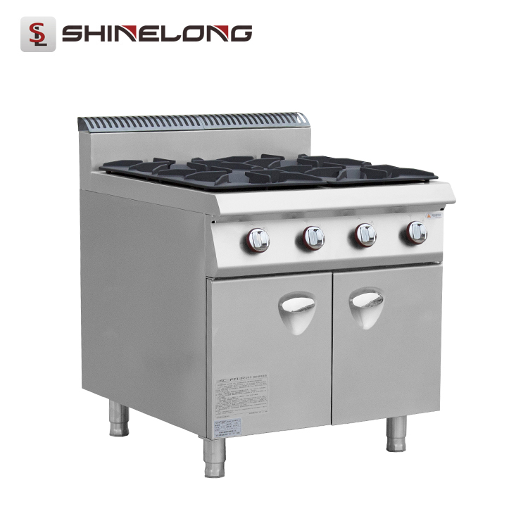 Commercial 900 Series 4-Burner Gas Range with Cabinet K1250-2