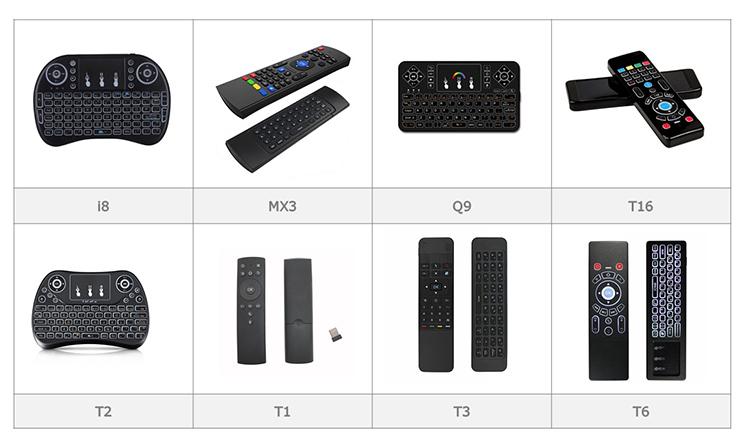 Goedkope Backlit 2.4G i8 Draadloze Mini Toetsenbord voor Smart TV Android Box Windows PC Game