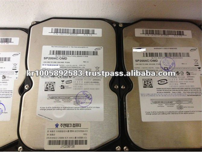 3.5inch Used Hard drive SATA HDD 160G