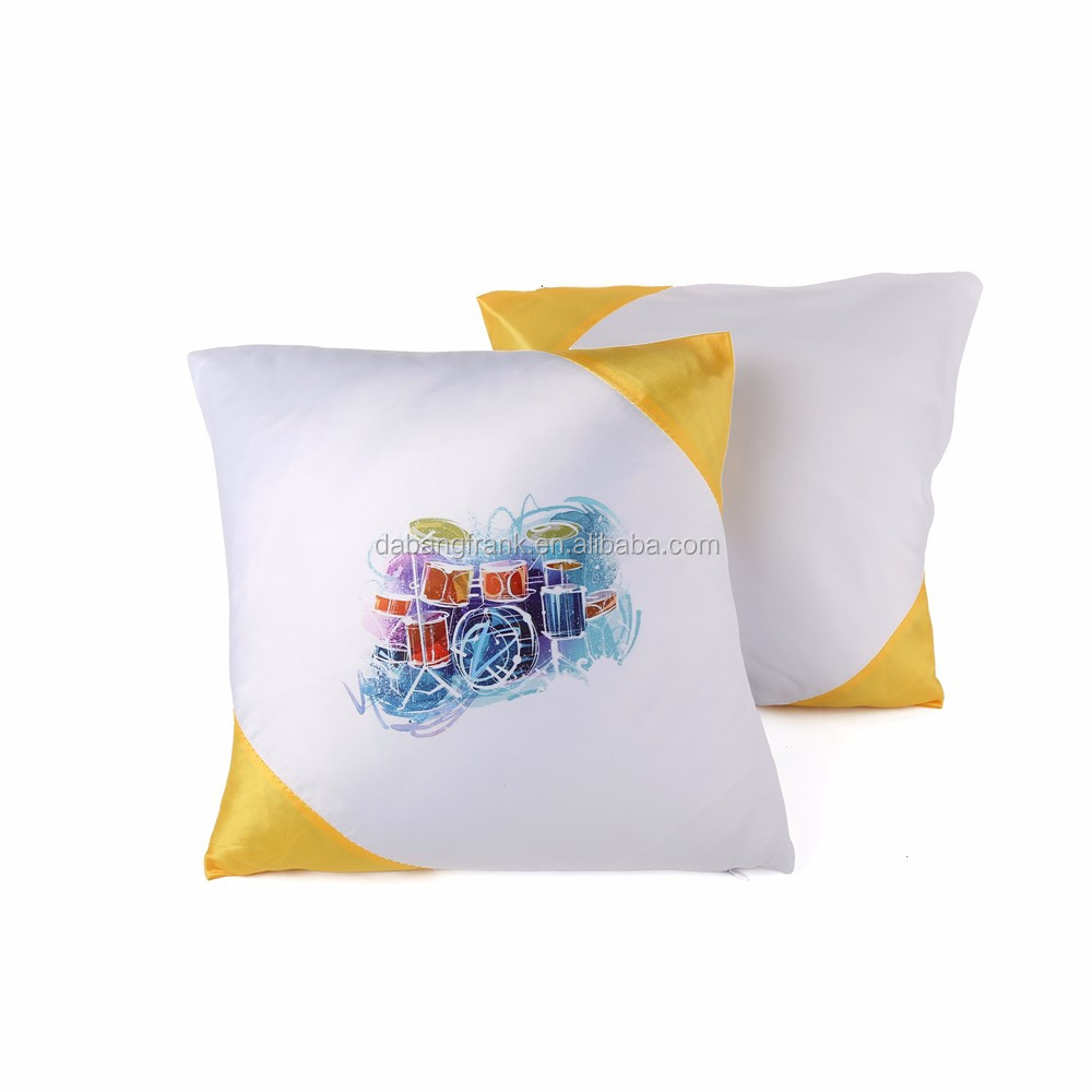 Newest luxury 41*41inch dye sublimation pillow case