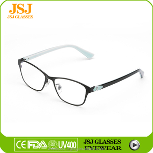 Wholesale Chinese Online Optical Eyeglasses, High Quality and Hot Sell Metal Optical Eyeglasses