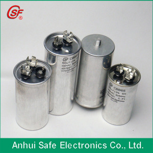 30uf 40uf 50uf 60uf 70uf 80uf 90uf 100uf 120uf metallized polypropylene film ac oil run Capacitor