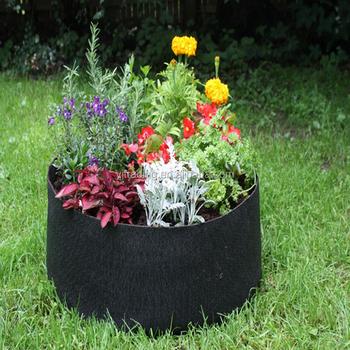 Pop Up Raised Garden Beds Flower Pots Transplants Container Fabric Raised  Bed Garden Planter Grow Bag
