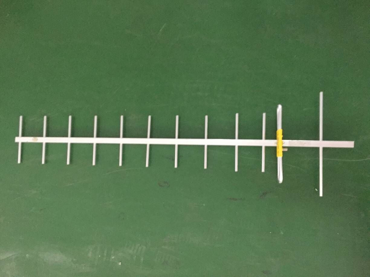 12dB 12 Elements Yagi Antenne Aangepaste Connector Long Range High Gain Directionele