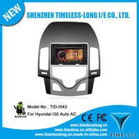 Android system 2 din Car Monitor for Hyundai I30 auto AC 2009 with GPS Ipod DVR digital TV box BT 3G/Wifi(TID-I043)